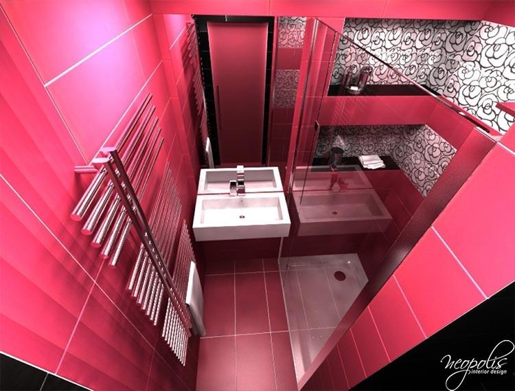 3D_vizualizacia_kupelna_ruzovo-cierna1